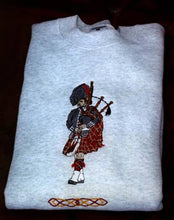 Load image into Gallery viewer, Large Piper Sweatshirt with Celtic Knot - Larger Sizes