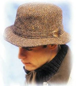 Herringbone Rim Hat