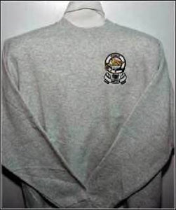 Crewneck Sweatshirt with Irish Coat of Arms