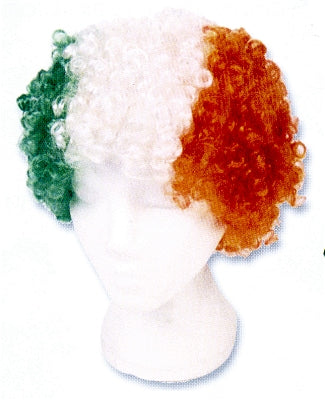 Tri-Color Wig Fun Hat