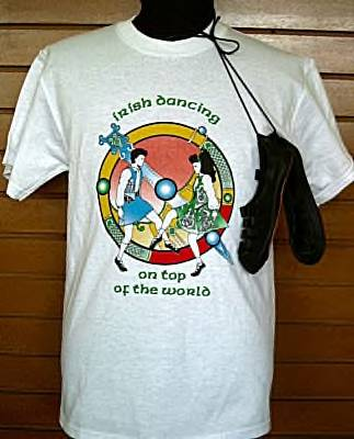 IRISH DANCING  T-Shirt - Adult