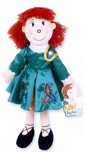 Irish Lass Rag Doll - KellyAnn in Green