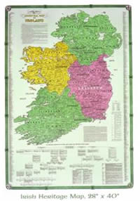 Irish Heritage Map