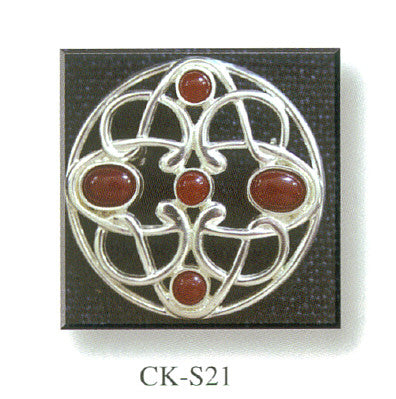 Brooch with Stone Set