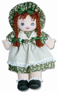 Kitty Doll with Shamrock Dress and Hat