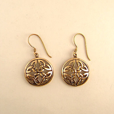 Round-Knot Earrings