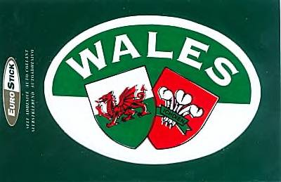 Welsh Sticker - English