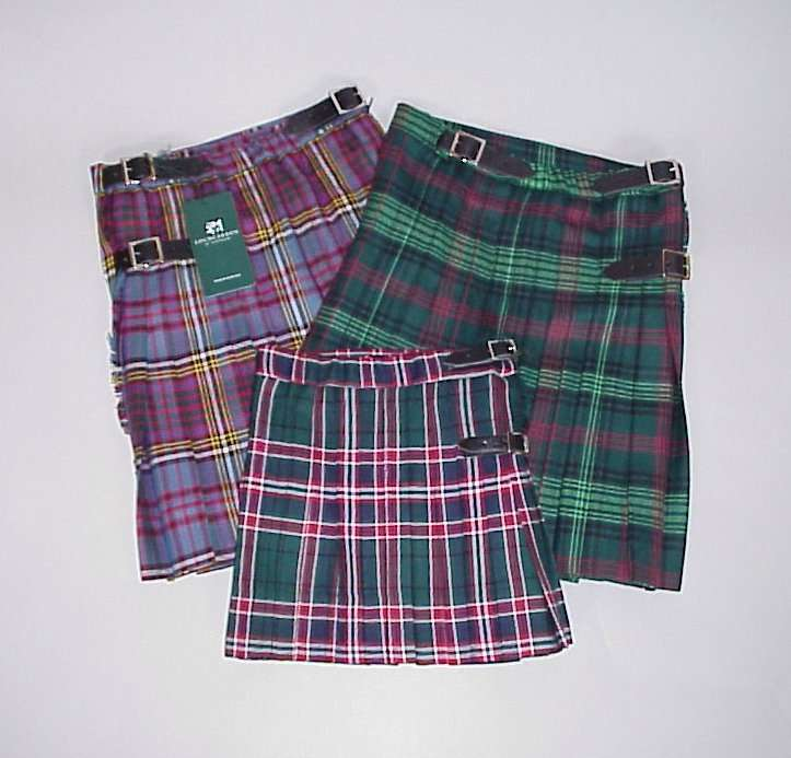 KILTS for Boys up to 15
