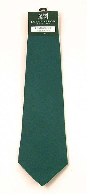 FINE WOOL TIES - Solid Colors to Match your Tartan
