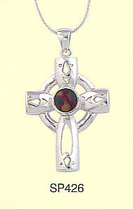 HeatherGems Sterling Silver Cross Pendant