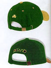 Load image into Gallery viewer, Dark Green Baseball Hat with Gold Peak
