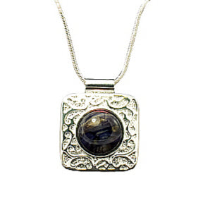 Ladies Square Fancy Pendant