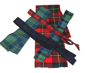 "TARTAN Ribbon - 54"" long x 3"" wide"