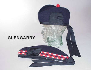 GLENGARRY - DICED (NAVY)