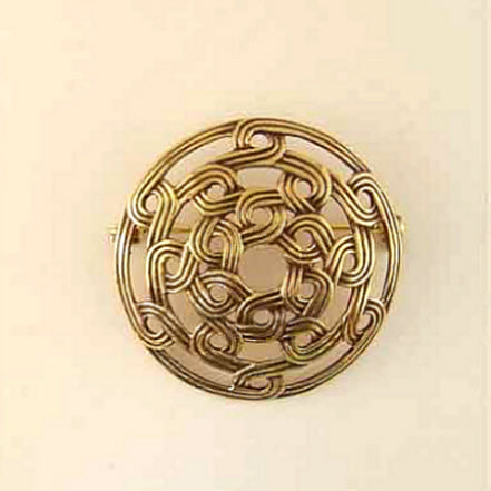 Weaved-Knot Brooch