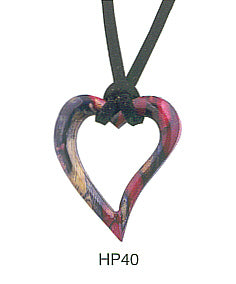 Heart Shape HeatherGems Pendant