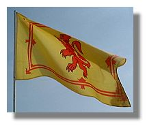 SCOTTISH FLAG - Lion Rampant
