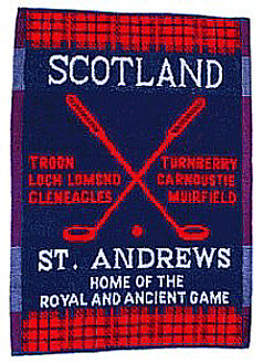 St. Andrew's Golf Towel - Cotton