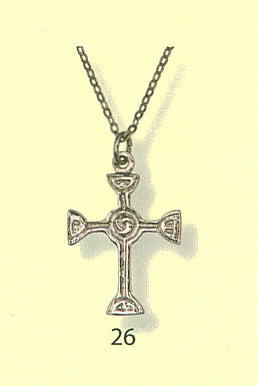 Scottish Jewelry Cross Pendant - Richie Cross