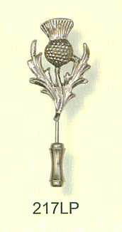 Lapel Pin - Large Thistle