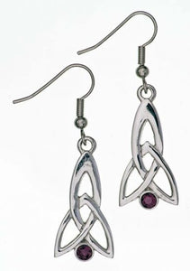 Celtic Fuchsia Earrings