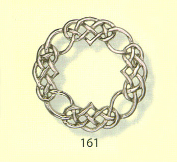 Celtic Interlace Brooch with Large Open Center