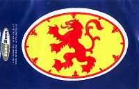 Scotland Lion rampant oval Stickers