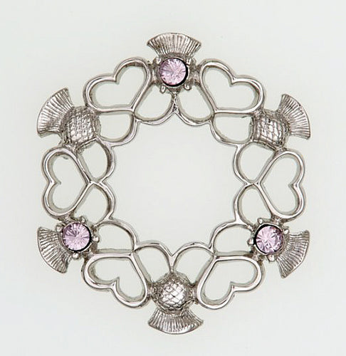 Alliance Brooch - Pewter