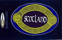 Blue Scotland oval Celtic Band