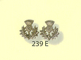 Scottish Thistle Stud Earrings
