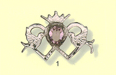 Dunvegal Luckenbooth Brooch