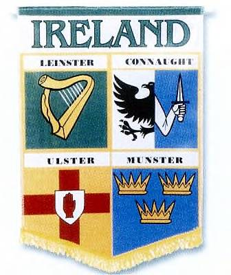 Ireland Four County Banner - Large
