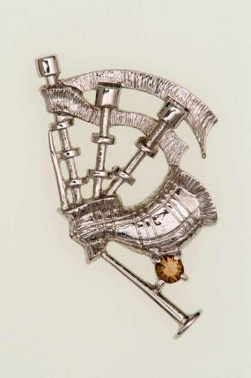 Bagpipe Brooch