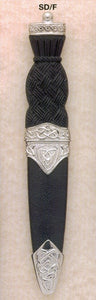 Celtic Sgian Dubh with Knob