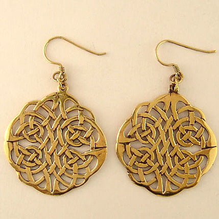 Circle-Knot Earrings - Large