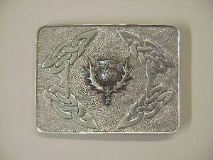 Buckle Thistle - cast pewter