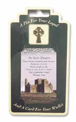 An Irish Blessing Card & Pin