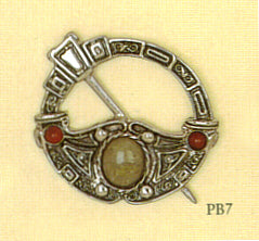 Scottish Pebble Brooch - Pennanular