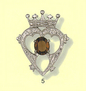 LaBois Luckenbooth Brooch