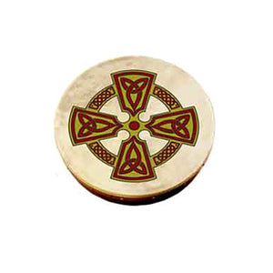 Children's Bodhran with Kilkenny Cross Design
