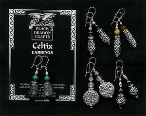 """Celtix 2"" Earrings"