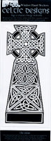 "Celtic High Cross 4"" x 9"" Sticker"