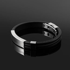 Black Punk Wristband