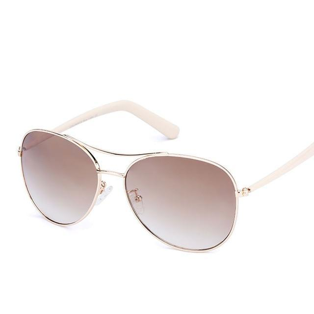 Sunglasses Women Fashion Gold Frame