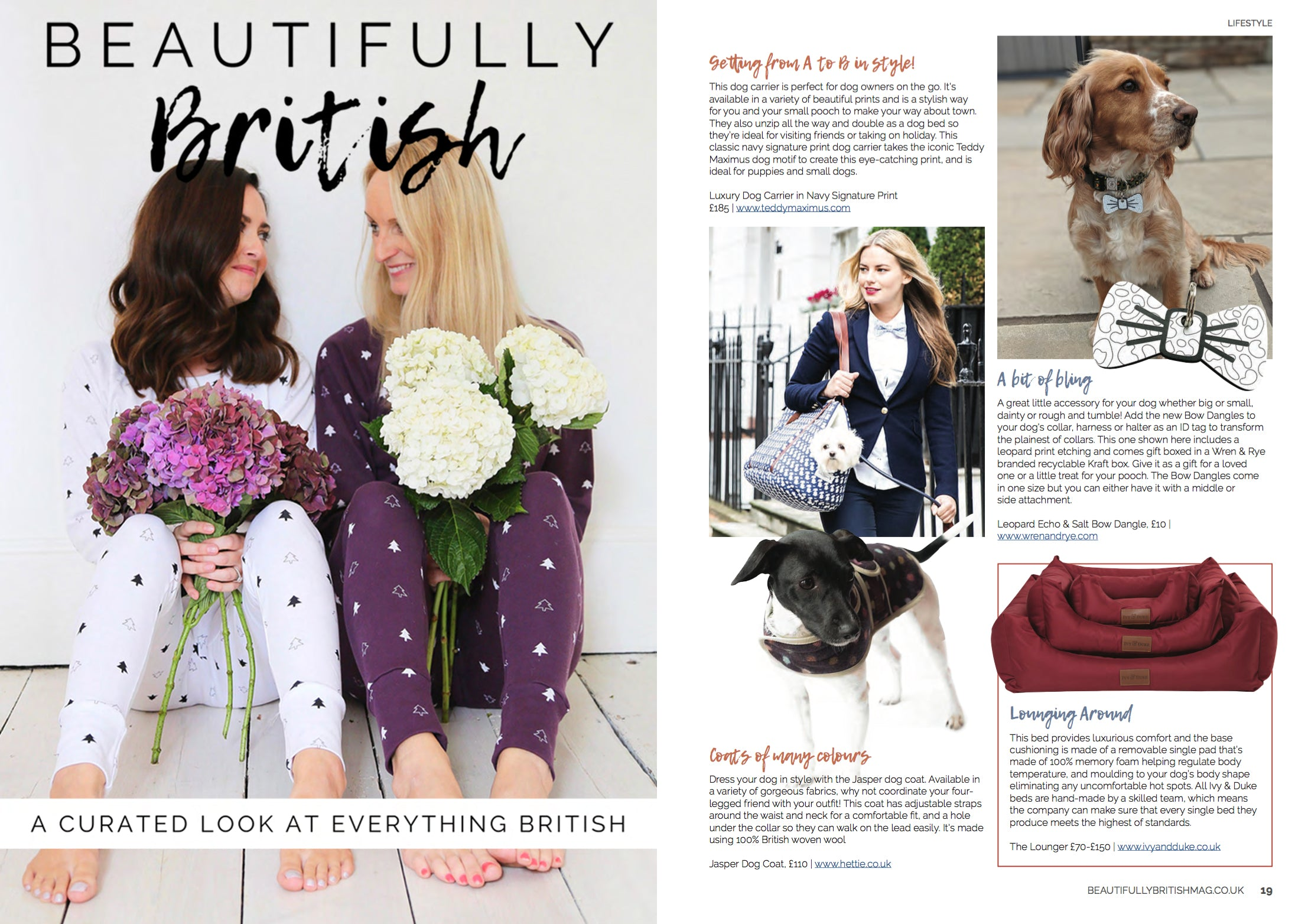 Wren & Rye Press - Beautifully British Magazine October Issue