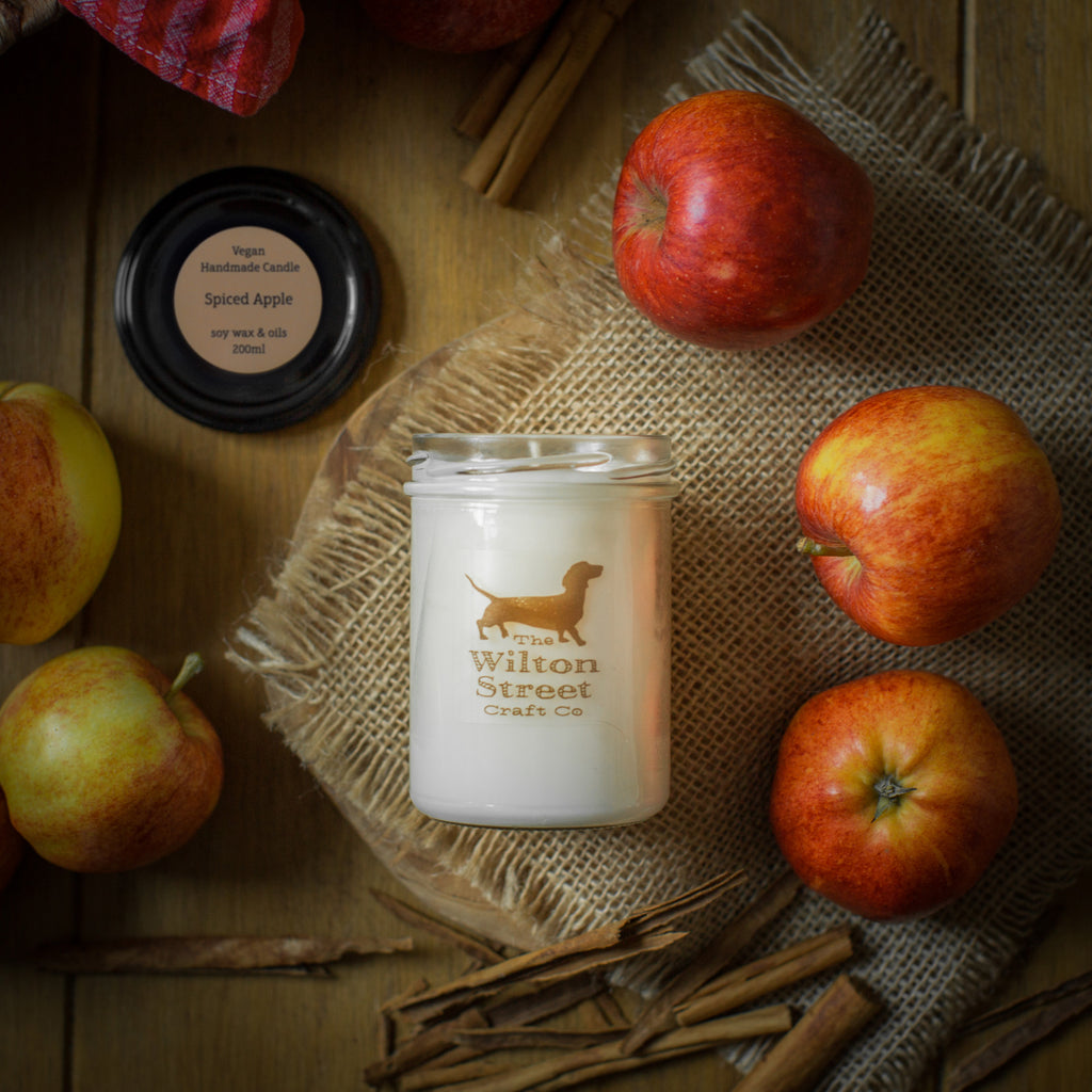 Wilton Street Craft Co Spiced Apple Candle