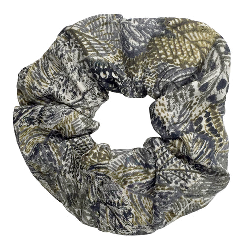 Liberty Leaves Print Hair Scrunchie