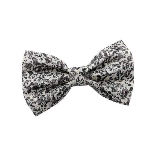 Antique Floral Dog Bow Tie