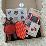 Luxury Doggy Gift Box (inc. Christmas Bandana)
