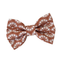 Load image into Gallery viewer, Wren & Rye - Terracotta Flower Print Cotton Bow Tie